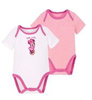 2 Piece Disney Minnie Mouse Bodysuits for Infant Girls