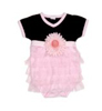 Mud Pie Baby Perfectly Princess Bodysuit, 0-6 Months